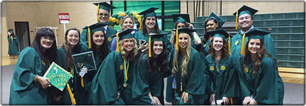 More than 350 students in our college earned their degree this past Saturday. Go Bulls_